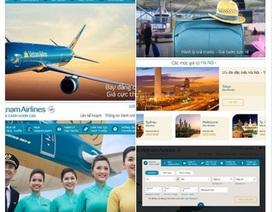 Hàng không quốc gia đổi mới giao diện trang web chính thức
