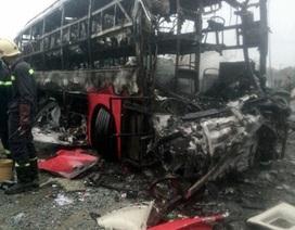5 thi thể không thể nhận dạng vụ xe khách tông nhau là người Hà Tĩnh