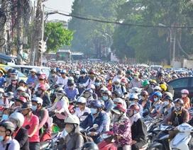 Mỗi ngày TPHCM tăng... 1.000 xe máy