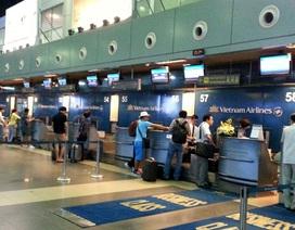 Hệ thống thông tin sân bay đã an toàn, thông suốt