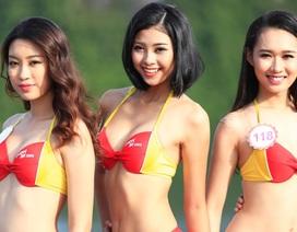"""Bikini Vietjet """"đốt nóng"""" trước đêm chung kết Hoa hậu Việt Nam"""