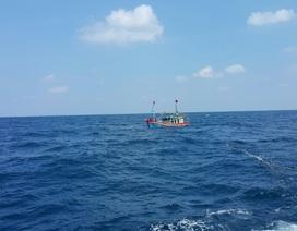 Chìm tàu cá cùng 15 ngư dân trên vùng biển Trường Sa