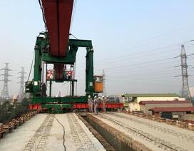 Hợp long toàn tuyến đường sắt trên cao Cát Linh - Hà Đông
