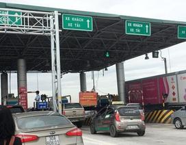 Thử nghiệm dừng trạm thu phí Đại Xuyên trên cao tốc Pháp Vân - Ninh Bình