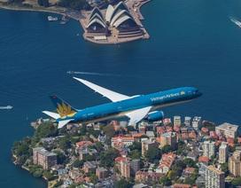 Những hình ảnh đẹp của hàng không quốc gia trên bầu trời quốc tế