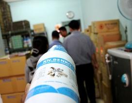 Đột kích cơ sở sản xuất thuốc thú y, phát hiện 750 kg chất tạo nạc