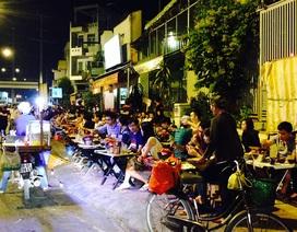 """Quán nhậu """"dã chiến"""" bủa vây đại lộ đẹp nhất Sài Gòn dịp Tết"""