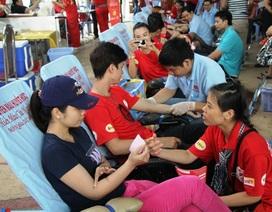 """17.000 cán bộ, công nhân tham gia hiến máu trong chiến dịch """"Hành trình đỏ"""""""