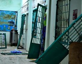 Hiện trường ngổn ngang vụ 600 học viên trốn trại cai nghiện