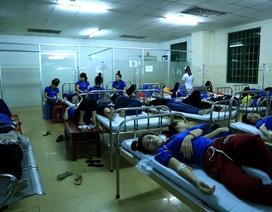 Hàng trăm công nhân nhập viện nghi ngộ độc thực phẩm sau bữa ăn chiều