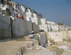 Sập mỏ đá, 3 công nhân thương vong