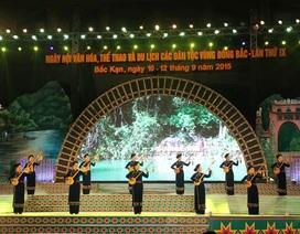 Khai mạc Ngày hội Văn hóa, Thể thao và Du lịch các dân tộc vùng Đông Bắc