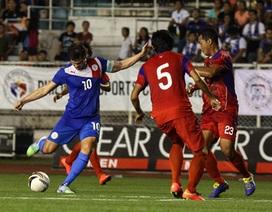 Đội tuyển Philippines vắng nhiều sao nhập tịch tại AFF Cup