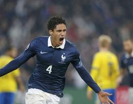 Varane lập công, Pháp đánh bại Thụy Điển