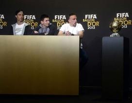 Ribery tố Blatter cơ cấu Quả bóng vàng cho C.Ronaldo