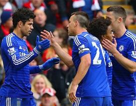 Chelsea ngược dòng vượt ải Liverpool