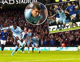 Man City áp sát ngôi đầu của Chelsea