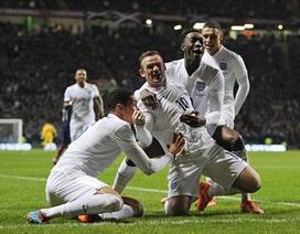 Rooney lập cú đúp, Anh hạ gục Scotland