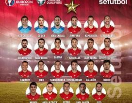 Tây Ban Nha triệu tập đội hình: Del Bosque bỏ qua Diego Costa