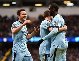 """Silva tỏa sáng, Man City """"thổi lửa"""" vào Chelsea"""