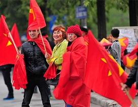 Hàng vạn CĐV Việt Nam sớm đốt nóng Mỹ Đình