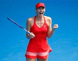 """""""Búp bê"""" Sharapova vào chung kết"""