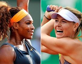 """""""Búp bê"""" Sharapova thách thức quyền lực S.Williams"""