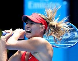 """""""Búp bê"""" Sharapova suýt bị loại sớm"""