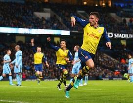 Nhìn lại chiến thắng tuyệt vời của Arsenal trên sân Man City
