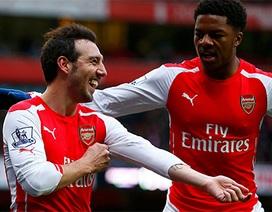 """Nhìn lại trận thắng """"5 sao"""" hoành tráng của Arsenal"""