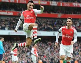 "Arsenal ""nuốt gọn"" Stoke City"