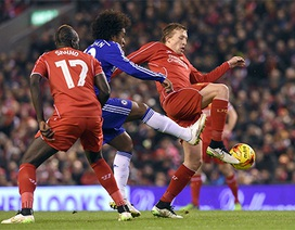 Chelsea may mắn cầm hòa Liverpool
