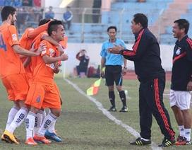 Hòa Hà Nội T&T, SHB Đà Nẵng có điểm đầu tiên