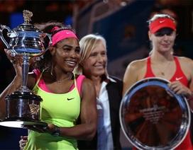 Serena Williams lần thứ sáu vô địch Úc mở rộng
