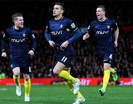 MU thua tức tưởi trước Southampton
