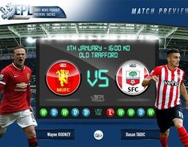 Man Utd - Southampton: Vì vị trí thứ ba