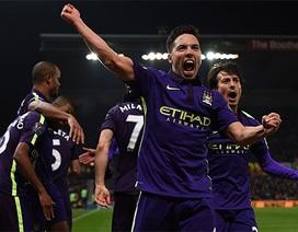 Nhìn lại lần đầu tiên Man City thắng trên sân Stoke