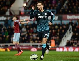 Đêm bình yên của Hazard và các đồng đội