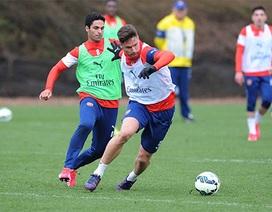 Arsenal sẵn sàng đón đợi Liverpool