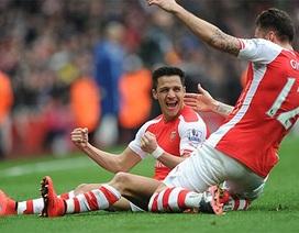 """Arsenal dễ dàng """"thổi bay"""" Liverpool"""