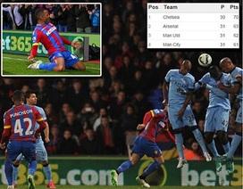 Man City gục ngã trước Crystal Palace