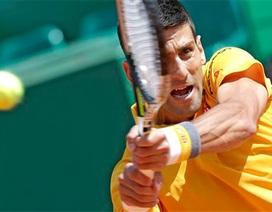 Djokovic bắt nhịp nhanh với Monte-Carlo