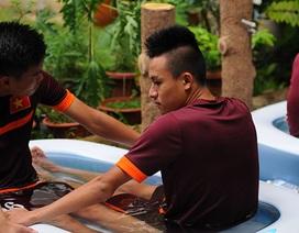 Chiêu đặc biệt giúp cầu thủ U23 Việt Nam hồi phục thể lực