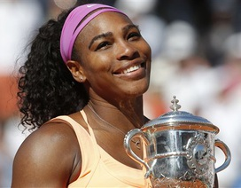 Serena Williams cán mốc 20 danh hiệu Grand Slam