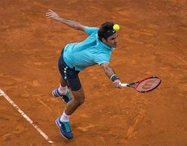 Federer sớm thành khán giả ở Madrid