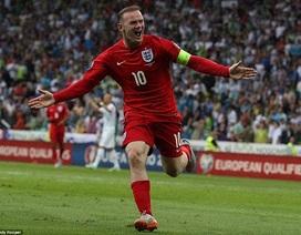 Rooney tỏa sáng, tuyển Anh thắng trận thứ 6 liên tiếp
