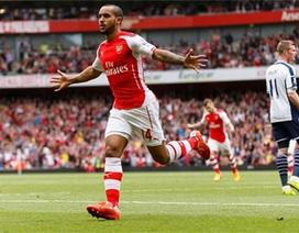 Arsenal thắng giòn giã trước West Brom