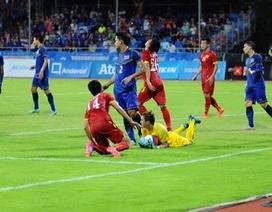 Gục ngã trước U23 Thái Lan, U23 Việt Nam ngậm ngùi nhận nhì bảng