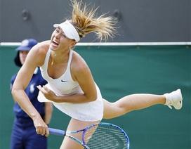 """""""Búp bê"""" Sharapova, Serena Williams cùng đi tiếp"""