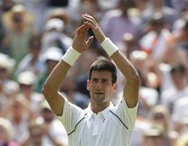 Djokovic tiếp đà thăng hoa, Nishikori bỏ cuộc